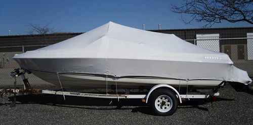 Shrink wrap boats