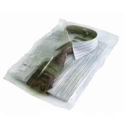 Polypropylene bags - warning notice - resealable flap