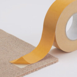 Double sided carpet tape usage