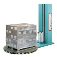 Machine pallet shrink wrap