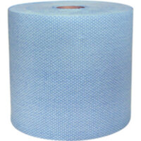 Paper wiping rolls